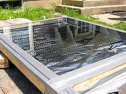 do it yourself solar collector